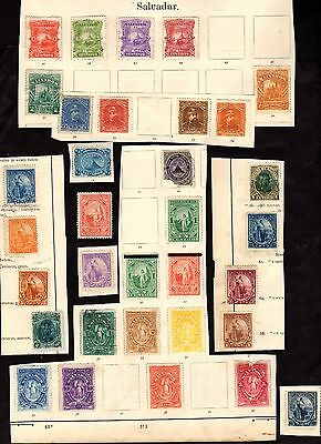 Stamps ~ EL SALVADOR ~ Early Unsorted