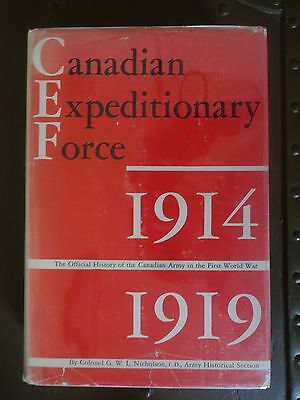 Canadian Expeditionary Force, 1914-1919: Official History of the Canadian Army