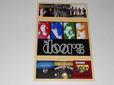 "Large The Doors 1967-71 Album Cover Poster Soft Parade, Jim Morrison 19""x13"""