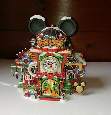 HTF IOB Dept 56 North Pole 2006 Mickey Mouse Watch Factory  # 56951 Retired