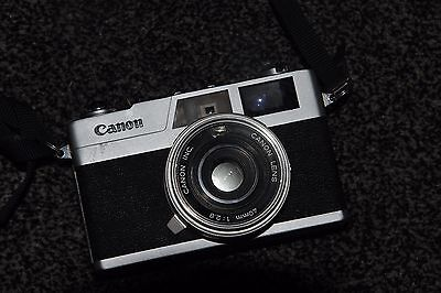 CANON CANONET 28 RANGEFINDER 35mm CAMERA