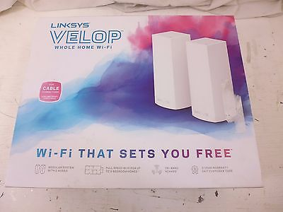 Linksys VELOP Whole Home Mesh Wi-Fi System WHW0302 Wireless Router - Modular - 2