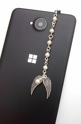 Dust Plug, Angel Wings Dangle Charm For Mobile Phone, Tablet, iPad, iPhone