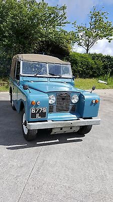Beautiful Blue Series 2A Land Rover