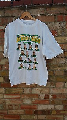 South African Rugby World Cup 1995 Springbok Squad T-Shirt