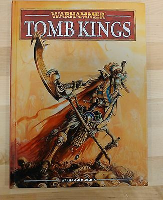 NICE Tomb Kings Army Book (HARDCOVER) - Warhammer Fantasy 8th Edition