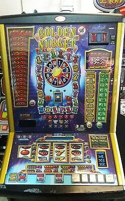 Golden nugget fruit machine accepts new £1 coin (permit number 005955)