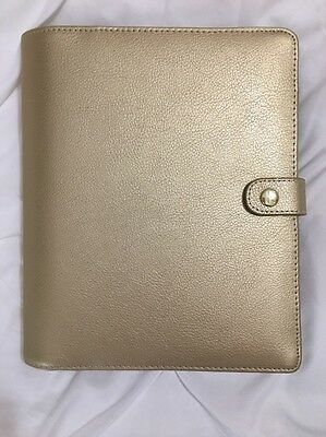 Rare | New A5 Gold Leather Kikki K Live Bright Planner