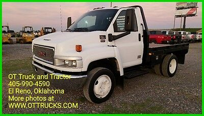 2003 GMC 4500 2wd Reg Cab 9ft Hay Bed Flatbed Chevrolet Haybed 6.6L Duramax
