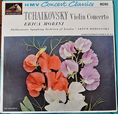 Tchaikovsky Violin Concerto in D major Op.35 Vinyl LP Mono Record