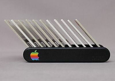 "Original Apple 3.5"" Floppy Disk Rack from 'The Apple Collection' [1989, Austria]"