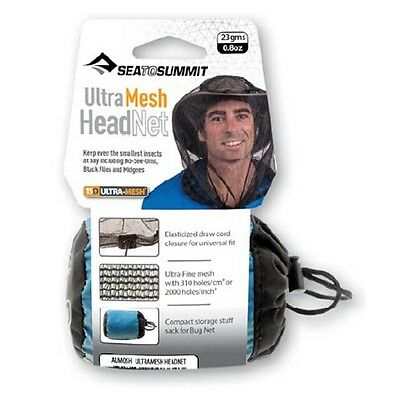 Sea to Summit Ultra-fine Mesh Head Net - stops even small insects & mosquitos
