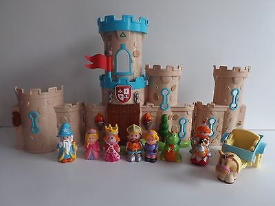 Early Learning Centre Happyland Knights Castle With Figures