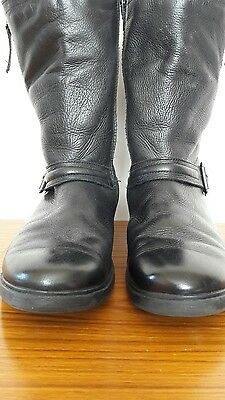 girls clarks boots size 4g