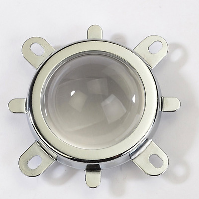 44mm Lens + 50mm Reflector Collimator Base Housing + Fixed bracket for 10W-100W