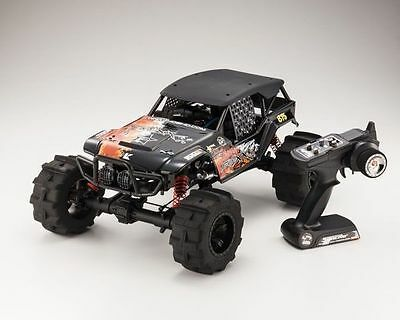 Kyosho Fo-Xx 1/8 Monster Truck  Foxx 3 Velocidades Sin Motor Y Escape