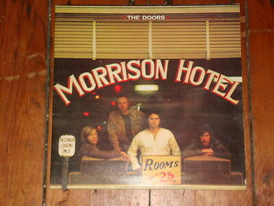the doors morrison hotel vinyl lp exc+