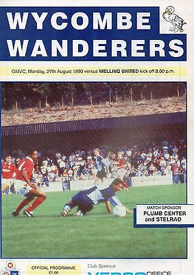 WYCOMBE  v  WELLING  90/1