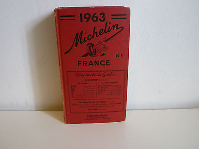 Livre Guide Michelin 1963  Edition Michelin  ( Col 2)