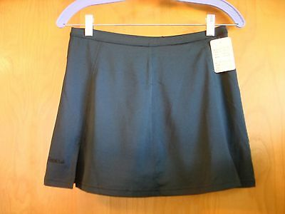NEW Bolle Women's Extra Dry Black Tennis Skort Skirt Shorts NWT Size Small $54