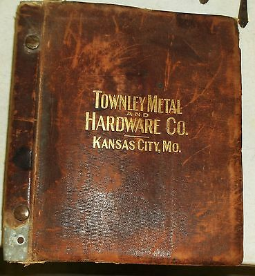 Antique 1900's Hardware Catalog Book Tools Guns Knives Hardware HUGE 14lbs