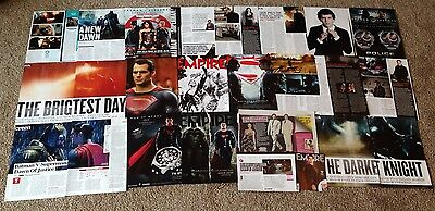 Henry Cavill Clippings Rare 45+ Batman V Superman Pictures Articles Ads Film