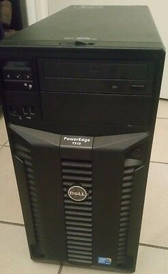 Serveur DELL PowerEdge T310 Server Xeon Quad Core X3440 2.5Ghz 6Go 2To SAS