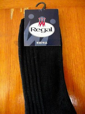 Regal Golf Socks Brand New with Tags size UK 6-11 Navy Blue long length