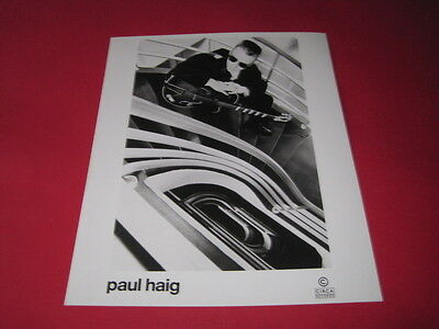 PAUL HAIG  10 x 8 inch promo photo photograph #F026_2417
