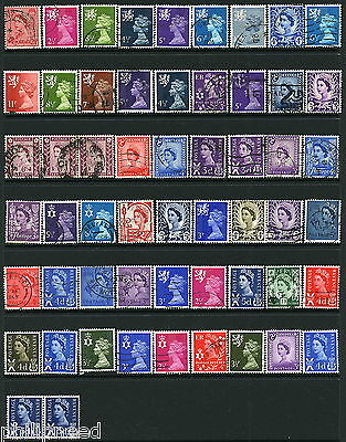 GB REGIONAL MAINLY USED x59 FROM OLD ALBUM [A134