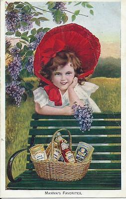 """H. J. Heinz 57 Products Advertising Card """"Mamma's Favorites"""""""