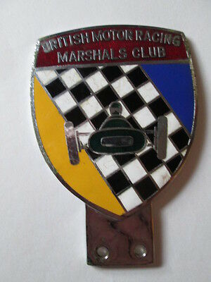 British motor racing marshals club badge. motor club badge. car club. AA. RAC.