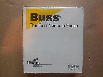 """""""NEW IN BOX"""" BUSSMANN NON-100 ONE-TIME FUSES 100A/250V (Box of 5)"""