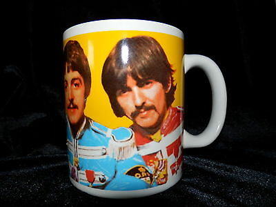 The Beatles Sgt. Peppers Lonely Hearts Club Band Coffee Mug With Box 2007