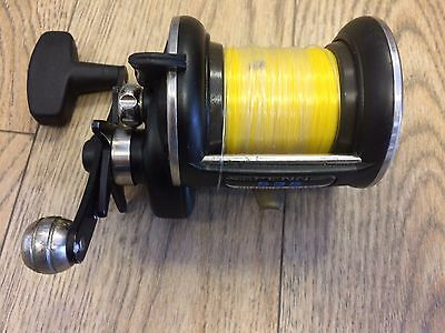Penn 535 Graphite Frame Multiplier HIGH SPEED SEA FISHING REEL GREAT CONDITION