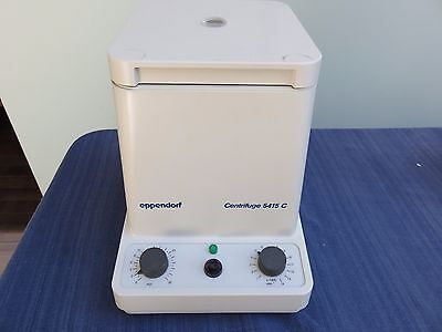 Eppendorf Centrifuge 5415 C w/ F-45-18-11 Rotor and cover EXCELLENT