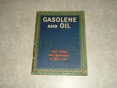 Cities Service Booklet  Gasolene And Oil