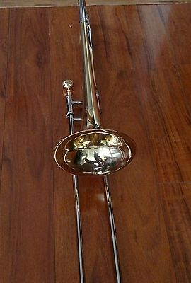 Exceptionally Nice Yamaha YSL-691 Jazz Trombone with Gold Plated Denis Wick Mpc