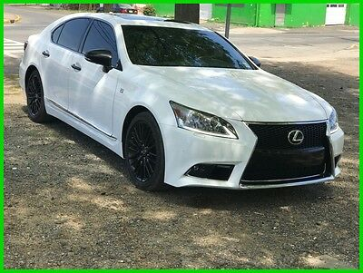 2015 Lexus LS Crafted Line 2015 Crafted Line Used 4.6L V8 32V Automatic AWD Sedan Premium