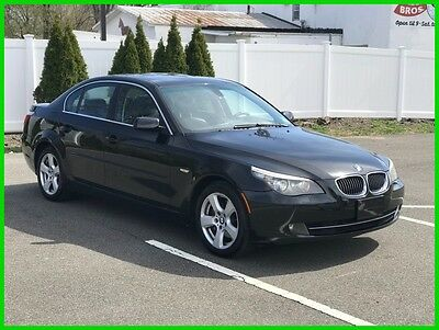 2008 BMW 5-Series xi 2008 xi Used Turbo 3L I6 24V Automatic AWD Sedan Premium