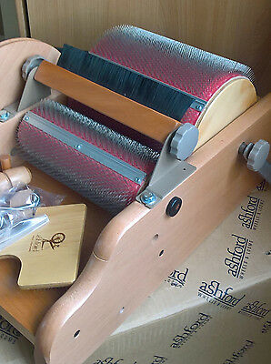 Ashford Drum Carder, Standard 72 point with packer brush, excellent condition