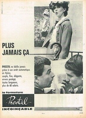 H Publicité Advertising 1961 La Fermeture Incoincable Prestil Breweriana, Beer Other Breweriana