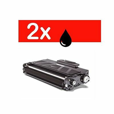 2 X Toner compatible CON BROTHER TN2320 DCP-L2520DW HL-L2300D Tn-2310