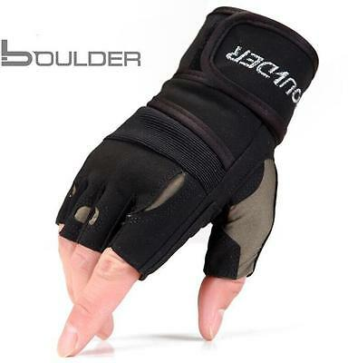 Weight lifting Gym Gloves Body Building Training Fitness Workout Exercise Gloves