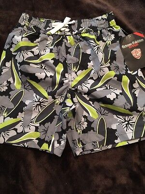 Boys Extreme Coalition Sport Swim Trunks Board Shorts Surf Size Small (6/7) (A1)