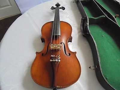 Antique Stradivarious Copy Violin  3/4