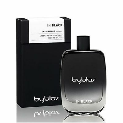 Byblos In Black 100Ml Spray Eau De Parfum For Man