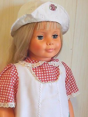 "Ideal 35"" PATTY PLAYPAL Vinyl Companion Doll in Original Dress, 1981 Re-issue"