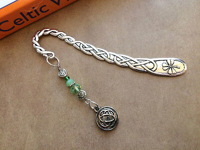 NEW Irish Shamrock Celtic Knot Bookmark from Between the Pages
