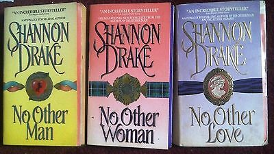SHANNON DRAKE (Heather Graham) - No Other Trilogy  Man, Woman, Love